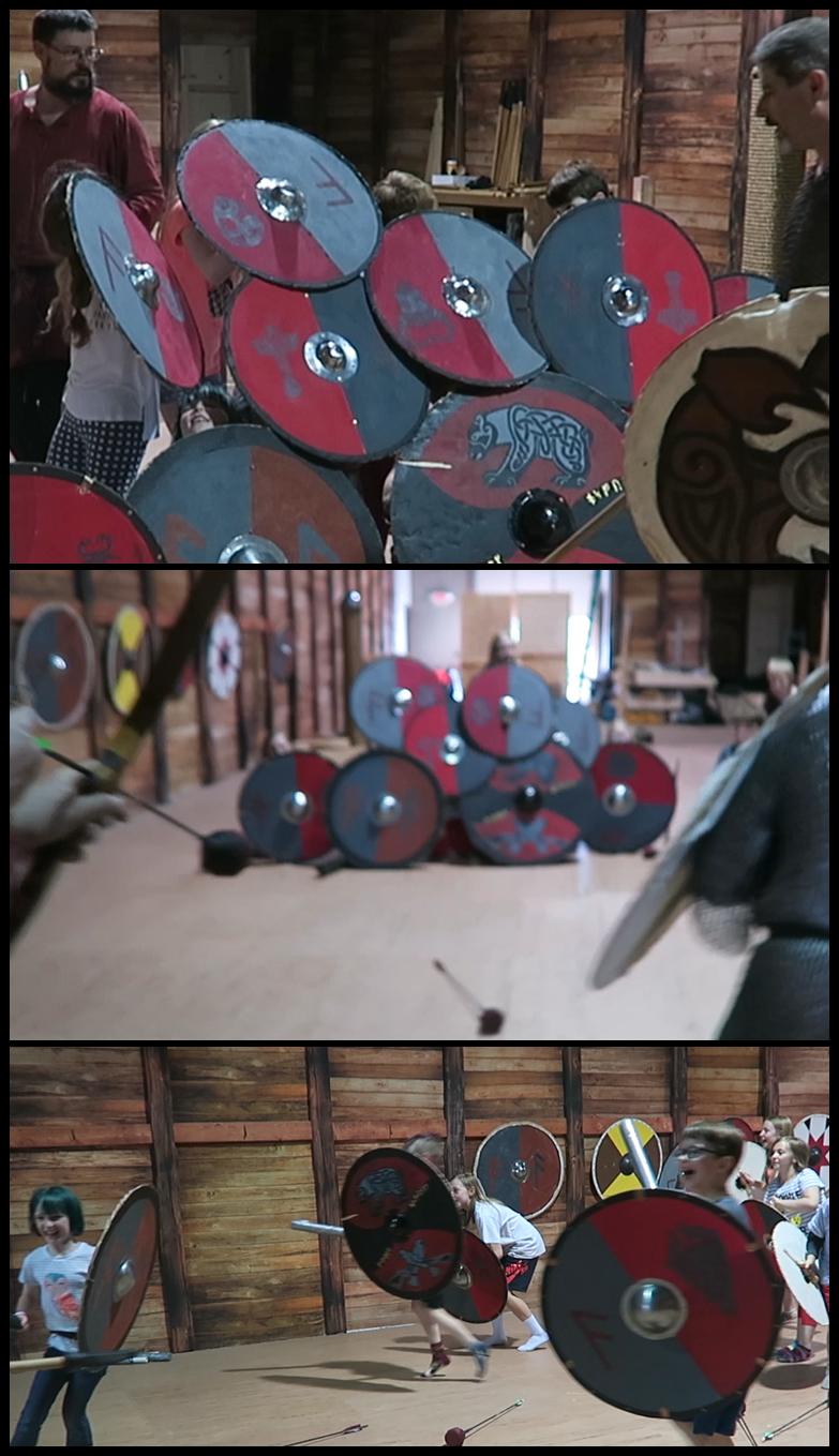 Shield Wall - Narrower